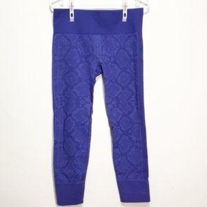 Lululemon Ebb to Street Heather Sapphire Blue Pant